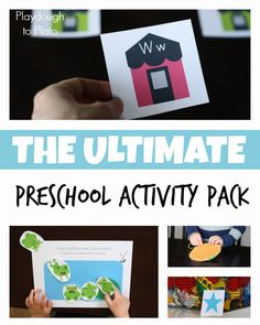 63 Game Changing Pre-K Centers - Playdough To Plato