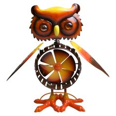 I love this long time. $19.99 at Target.com Spinner Owl Statuary