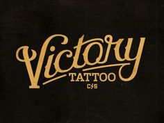 Typography  pinterest.com/fra411 #typography #lettering Victory Ca by Richie Stewart