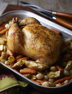How To Roast Chicken: Tips and Times.  You can make the perfect roast chicken! We'll tell you the kitchen tools, spices, and tips including cooking times and best methods.  -  good info.     lj