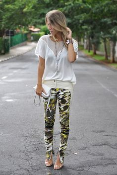 glam4you - nati vozza - look - meu look - calca - couro - leather - valentino - militar - shoes - blog - blogger -