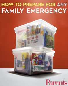 Learn what you should be doing to prepare for an emergency straight from a pediatrician mom.