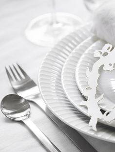 Georg Jensen Livings New York bestik passer perfekt til opdækningen. #inspirationdk #borddækning