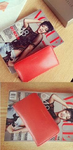 COCCINELLE WALLET MILLY  RED / 코치넬리 여성장지갑 밀리 레드