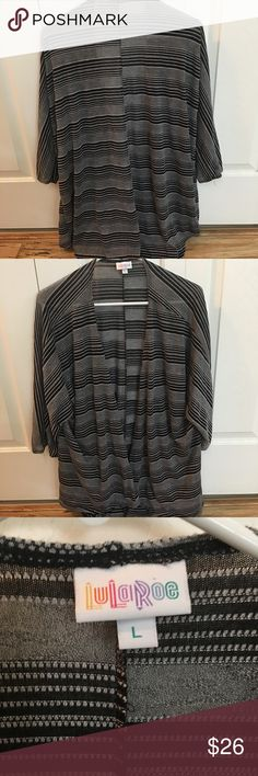 Lularoe Lindsay Perfect condition ! LuLaRoe Sweaters Cardigans