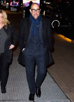 The 10 Best-Dressed Men of the Week Mens Fashion Suits, Men's Fashion, Man Style, Style Me, Nick Wooster, Stanley Tucci, Italian Street, Man Outfit, Best Dressed Man