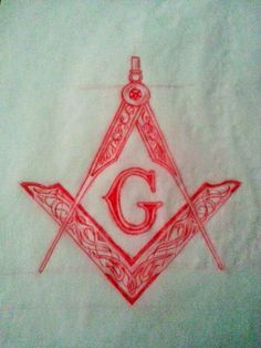 Masonic Emblem Tattoo Sketch by - Ranz