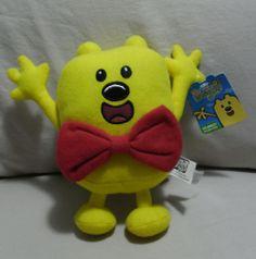 """Nick Jr. Wow Wubbzy! Wubbzy by Nanco (2008, Plush Doll / Stuffed Animal) - 8"""" #Nanco"""