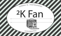 Giveaway at Sandra D. Photography