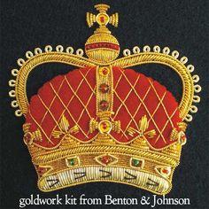 http://www.needlenthread.com/2015/01/goldwork-crown-embroidery-kit.html