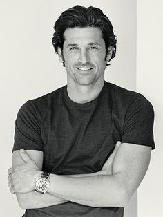 Patrick Dempsey- sexy race car driving brain surgeon- yes please! Sullivan Patrick Dempsey, Patrick Dempsey Hair, Pretty People, Beautiful People, Celebrity Gallery, Celebrity Pix, Celebrity Babies, Raining Men, Attractive Men