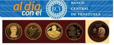 Medallas y Monedas conmemorativas del Banco Central de Venezuela