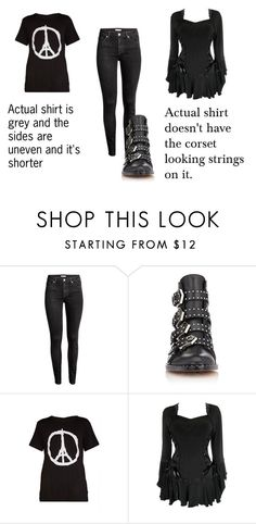 """""""RTD"""" by xxonyx-lightwaterxx ❤ liked on Polyvore featuring H&M and Givenchy"""