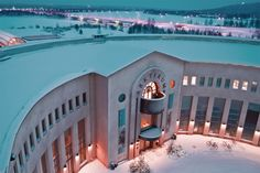 new year 2017 lapland levi snowmobile safari reindeer farm snow village rovaniemi santa klaus village zoo ranoua village Christmas Travel, Holiday Travel, Christmas And New Year, New Year 2017, Year 2016, Holidays 2017, Modern Buildings, Arctic, Reindeer