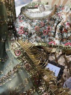 Anarkali, Lehenga, Saree, Embroidery Suits, Embroidery Fashion, Sanjeev Kumar, Monday Outfit, Mehndi Outfit, Dress Design Sketches