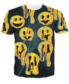 Black Wax Smile T-Shirt