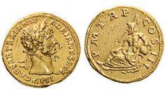 NumisBids: Nomisma Spa Auction 50, Lot 28 : ROMA IMPERO Adriano (117-138) Aureo – Testa laureata a d. – R/ PM...