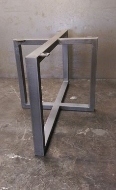 Good Metal Table Base By SteelImpression On Etsy