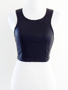 Tautmun - PANCHALA COATED TANK - BLACK, $18.99 (http://www.tautmun.com/panchala-coated-tank-black/) #leather