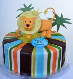 Pastry Palace Las Vegas - Baby Shower Cake #759 – Baby Simba