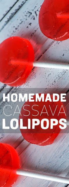 Make healthy back to school lollipops for the whole class with Madhava Organic Cassava.
