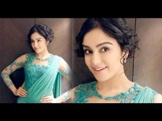 Adah Sharma Saree Photos