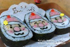 Christmas sushi... yummy!!