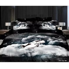 Cheap duvet covers brown, Buy Quality duvet covers and matching curtains directly from China duvet cover fabric Suppliers: King Size 3D Duvet Cover Sets (No filling)Black white music noted bedding sets,220 x240cm 100% Cotton Bedding Sets 4pc