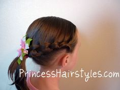 Knotted Braid princess-hairstyles-how-to-hairstyles-for-girls