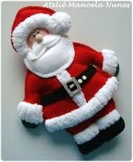 Felt santa pictures - Google Search