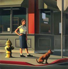 Walkin' the dog...