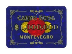 Casino Royal Plaque .... $24.95. The Casino Royal plaques are close reproductions of those used in the movie:  James Bond Casino Royal.    This Plaque is made by Matsui, and it's the highest available quality on the market. They are as good quality as the Paulson Plaques. Matsui makes chips and plaques for casinos all over the world.. Save 24%!
