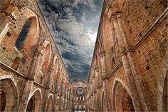 San Galgano abbey  amazing view