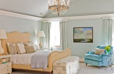 Crown molding with vaulted ceiling, would look so cute in our house!!!!