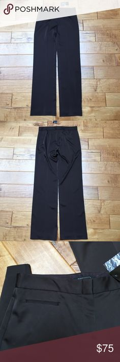 """NWT BCBGMaxazria brown pants This is a pair of NWT BCBGMAXAZRIA brown dress pants. Size 8. There is a zipper fly with a hook and loop closure. The inseam is 34"""". These pants are soft and light! BCBGMaxAzria Pants Trousers"""