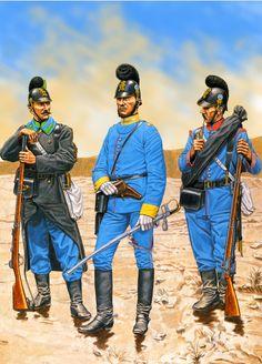 Bavarian Jäger Battalion during the Franco-Prussian War