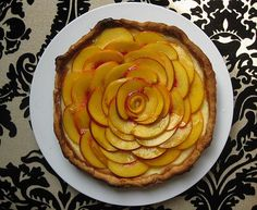 Fresh Peach Cheesecake Tart 2 by jenna_huntsberger, via Flickr