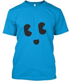 Tees Smily Teal Camiseta Front