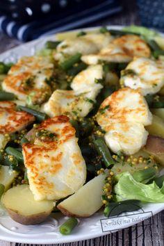 Potato Salad, Potatoes, Halloumi, Ethnic Recipes, Food, Potato, Essen, Meals, Yemek