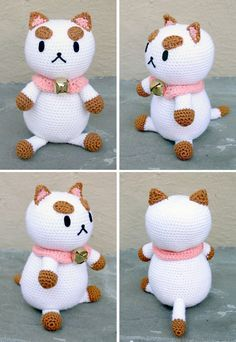Amigurumi Cat - FREE Crochet Pattern / Tutorial Is this an angry cat?