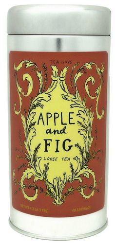 Apple and Fig Looseleaf Tea by mollyhatch on Etsy, $16.00