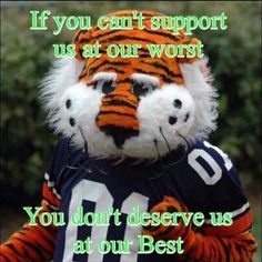 If you can't support us at our worst, you don't deserve us at our best.