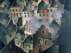 Ypres after the First Bombardment - Christopher Richard Wynne Nevinson, 1916 Harlem Renaissance, Your Paintings, Landscape Paintings, Landscapes, Ww1 Art, Art Deco, Modern Artists, Art Uk, Cubism