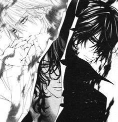 Matsuri Hino, Vampire Knight, Zero Kiryuu, Kaname Kuran, Ridou Kuran