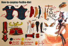 How-to-cosplay-Foxfire-Ahri by Draxaca