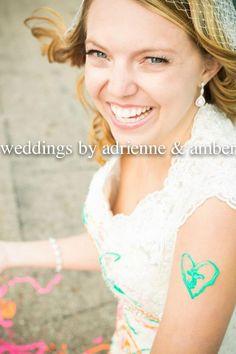 Royal Oak Wedding Photography-Weddings by Adrienne & Amber  #TrashTheDress #Photography #Bride #PureMichigan #Weddingsbyaa #Paint #Heart
