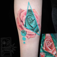 Chris Rigoni es un tatuador oriundo de Australia cuyo trabajo es reconocible por la mezcla inteligente de técnicas y estilos que hace a la hora de elaborar