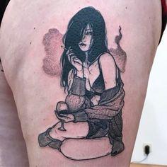 Sad Amish Tattooer