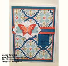 Butterfly Friends (JB Stampers/Stamping Dietitian) Stampin' Up!, JB Stampers, JaniceB