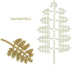 Fern leaf motif for crochet/ Irish lace diagram 100 floral motifs to crochetleaves / very pretty fern fronds .Image gallery – Page 356488126745295874 – Artofit Crochet Diy, Freeform Crochet, Crochet Diagram, Irish Crochet, Crochet Motif, Crochet Leaf Patterns, Crochet Leaves, Crochet Designs, Crochet Flowers
